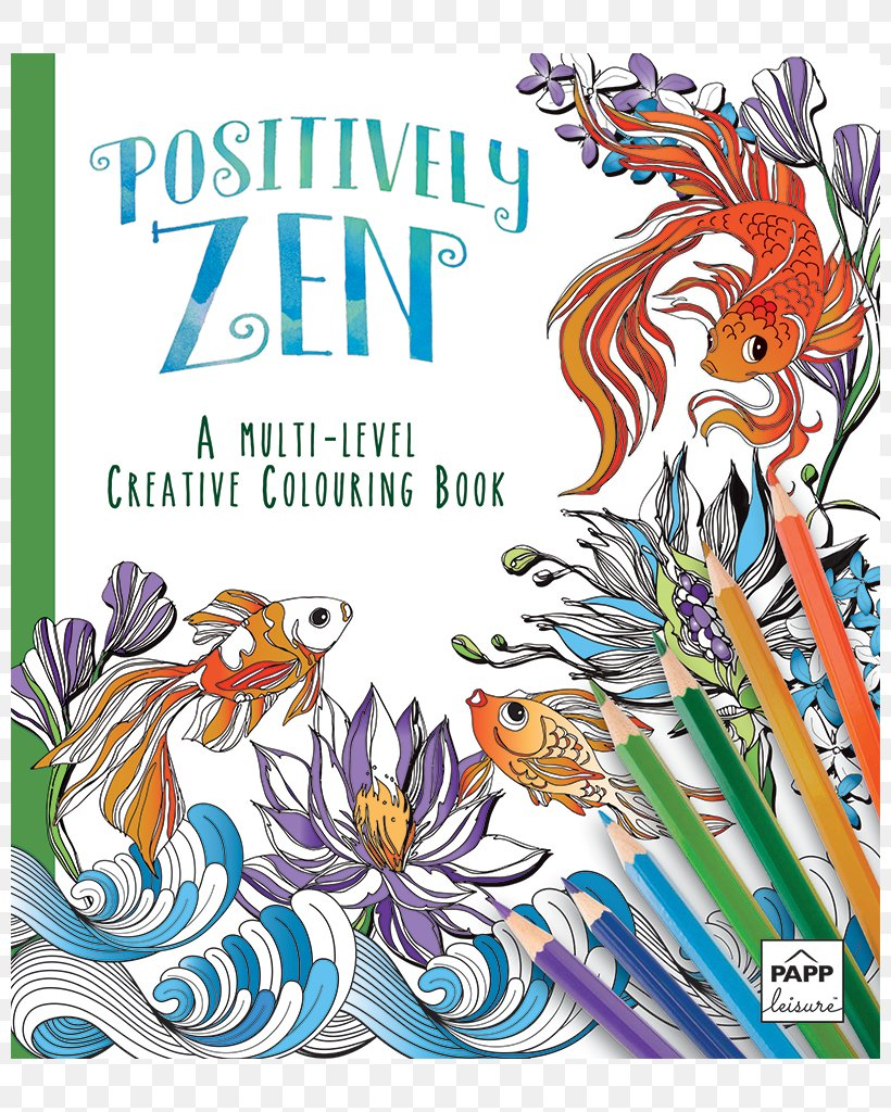 Zen Coloring Book The Creative Coloring Book Adult Coloring ...