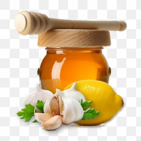Honey - Honey Lemon Garlic Medical Prescription Elixir PNG