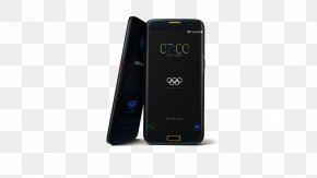 Black Olympic Mobile Phone Samsung S7 Material - Feature Phone Smartphone Samsung Galaxy S7 Olympic Games PNG