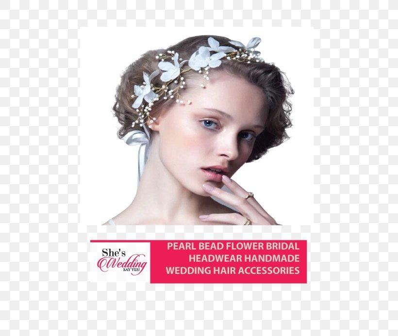 Headband Bride Headpiece Bead Clothing Accessories, PNG, 508x693px, Headband, Bead, Beauty, Bride, Brown Hair Download Free