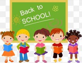 School - School Cartoon Child PNG