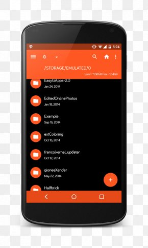 Android - Feature Phone File Manager Android PNG