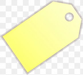 Paper Product Rectangle - Yellow Rectangle Paper Product PNG