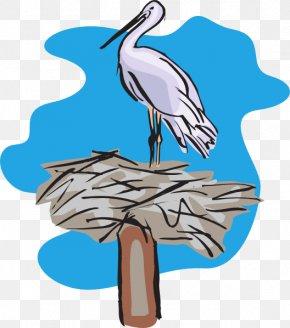 Nest - Bird Pelican Clip Art PNG