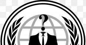 Anonymous - Logo Anonymous Organization Decal PNG