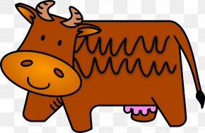 Brown Cliparts - Cattle Brown Clip Art PNG