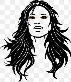 European Style Beauty Hair Vector - Long Hair Woman Beauty Parlour Clip Art PNG
