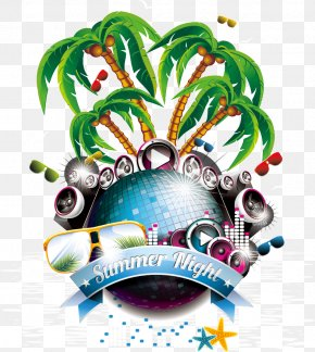 Great Posters Decorative Elements - Summer Party Flyer PNG