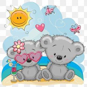 Love Teddy Bear - Teddy Bear PNG