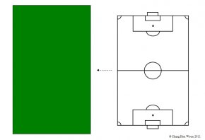 Soccer Field Diagram - Football Pitch Diagram Clip Art PNG