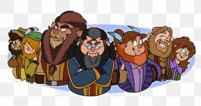 Seven Dwarfs - Fiction Human Behavior Cartoon PNG