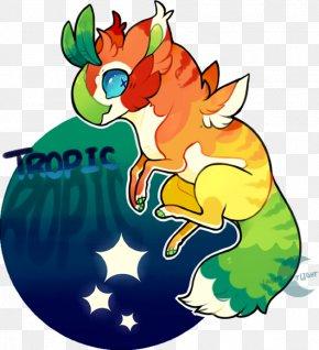 Tropic Night - Beak Cartoon Character Clip Art PNG