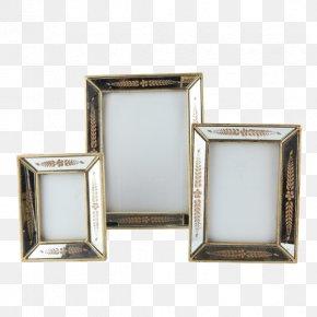 Gold Leaf - Picture Frames Gold Leaf Silver PNG