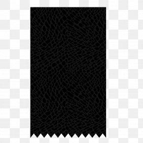 Black Box Free Material - Black Textile White Angle Pattern PNG