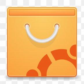Apps Ubuntu Software CenterA - Square Symbol Yellow PNG