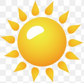 Sun Vector Element - Clip Art PNG