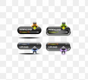 Innovation Android Download Button - Download Push-button Android PNG