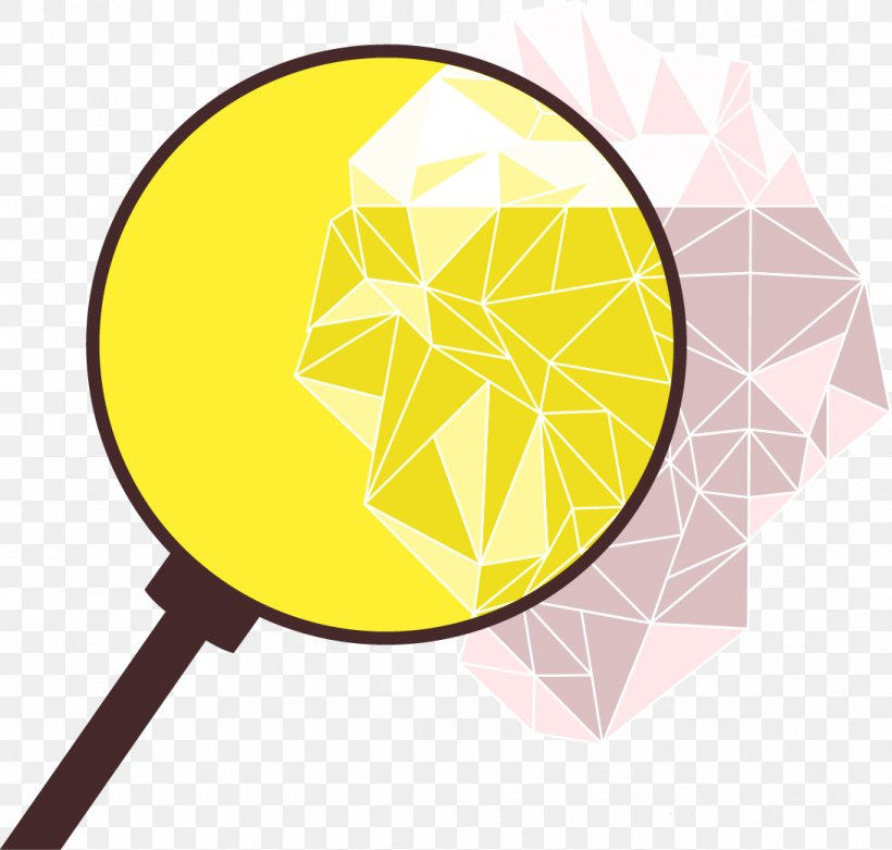 Magnifying Glass Euclidean Vector, PNG, 1091x1040px, Magnifying Glass, Glass, Material, Yellow Download Free