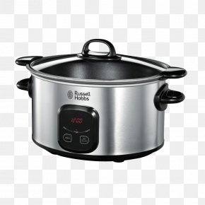 Russell Hobbs 22750 6.0L Slow Cooker 220/240 Volt 50Hz Slow Cookers Russell Hobbs 22740-56 Cook @ Home Hardware/Electronic PNG
