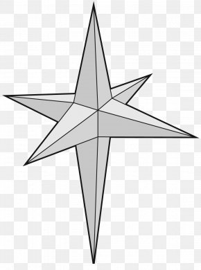 Three-dimensional Five-pointed Star - Moravian Star Five-pointed Star Drawing PNG