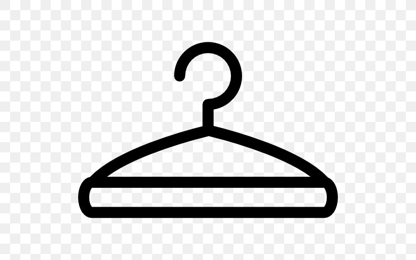 Clip Art, PNG, 512x512px, Clothing, Area, Black And White, Clothes Hanger, Computer Font Download Free