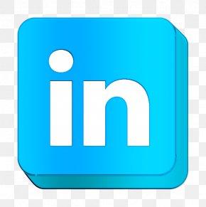 Logo Electric Blue - Communication Icon Linkedin Icon Logo Icon PNG