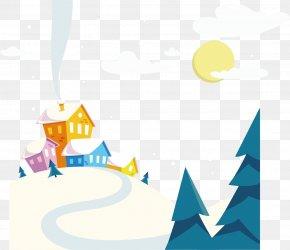 Snow Sky Snow Vector Material - Snow Slopes Free Euclidean Vector Clip Art PNG