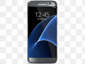 Smartphone - Samsung GALAXY S7 Edge Smartphone Android Telephone PNG