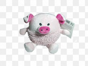 Dog Toys - Pig Stuffed Animals & Cuddly Toys Plush Pink M Snout PNG