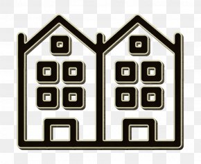 Real Estate Houses Icon - Christmas Icon Europe Icon Germany Icon PNG