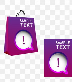 Shopping Bags Vector Material - Shopping Bag PNG