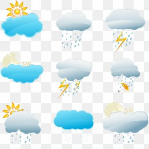 Free Weather Forecast Pull Material - Weather Forecasting Snow Rain Icon PNG
