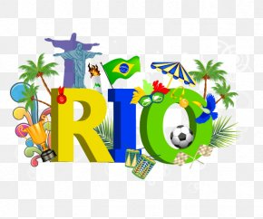 Rio Olympic Element - Rio De Janeiro 2016 Summer Olympics Clip Art PNG