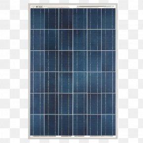 Solar Panel - Solar Panels Polycrystalline Silicon Solar Power Watt Photovoltaics PNG