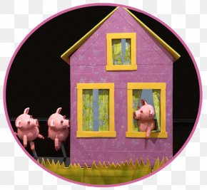 Big Bad Wolf The Three Little Pigs - 3 Little Pigs Way Sweet Home Richmond Triangle Players Puppet Showplace Theatre PNG