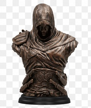 Figurine Assassin's Creed Origins - Assassin's Creed: Altaïr's Chronicles Ezio Auditore Altaïr Ibn-La'Ahad Bronze PNG