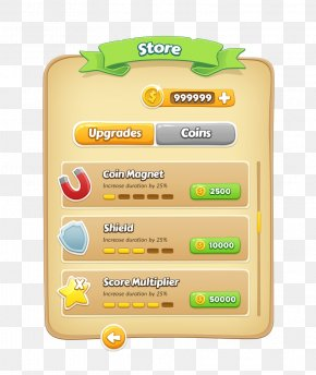Game UI Interface Animations Games - User Interface Design Game PNG
