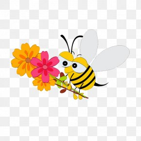 Cartoon Bee - Mothers Day Child PNG