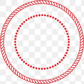 Circle Dots Cliparts - Rope Circle Clip Art PNG