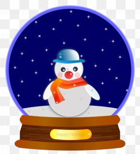 Christmas - Snow Globes Christmas Tree Clip Art PNG