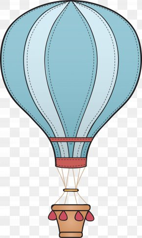 Balloon Decoration - Hot Air Balloon Aerostat Icon PNG