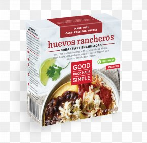 Breakfast - Vegetarian Cuisine Huevos Rancheros Enchilada Breakfast Scrambled Eggs PNG