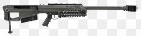Machine Gun - Barrett M95 .50 BMG Barrett M82 Bolt Action Barrett Firearms Manufacturing PNG