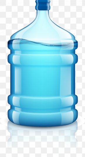 A Bucket Of Water - Drinking Water Bottle Euclidean Vector Plastic PNG