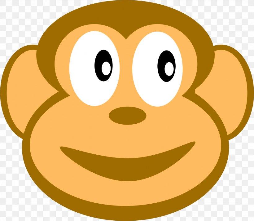 Monkey Clip Art, PNG, 2168x1886px, Monkey, Animal, Ape, Cartoon, Cuteness Download Free