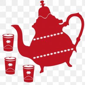 Salam - Moroccan Cuisine Maghrebi Mint Tea Teapot Sticker Tajine PNG