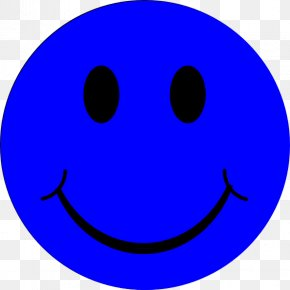 Blue Sad Smileys - Smiley Text Messaging Circle Font PNG