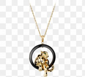 Cartier Gold Necklace - Cartier Necklace Jewellery Pendant Colored Gold PNG