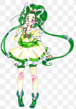 Mint Drawing - Drawing DeviantArt Pretty Cure Poseidon PNG