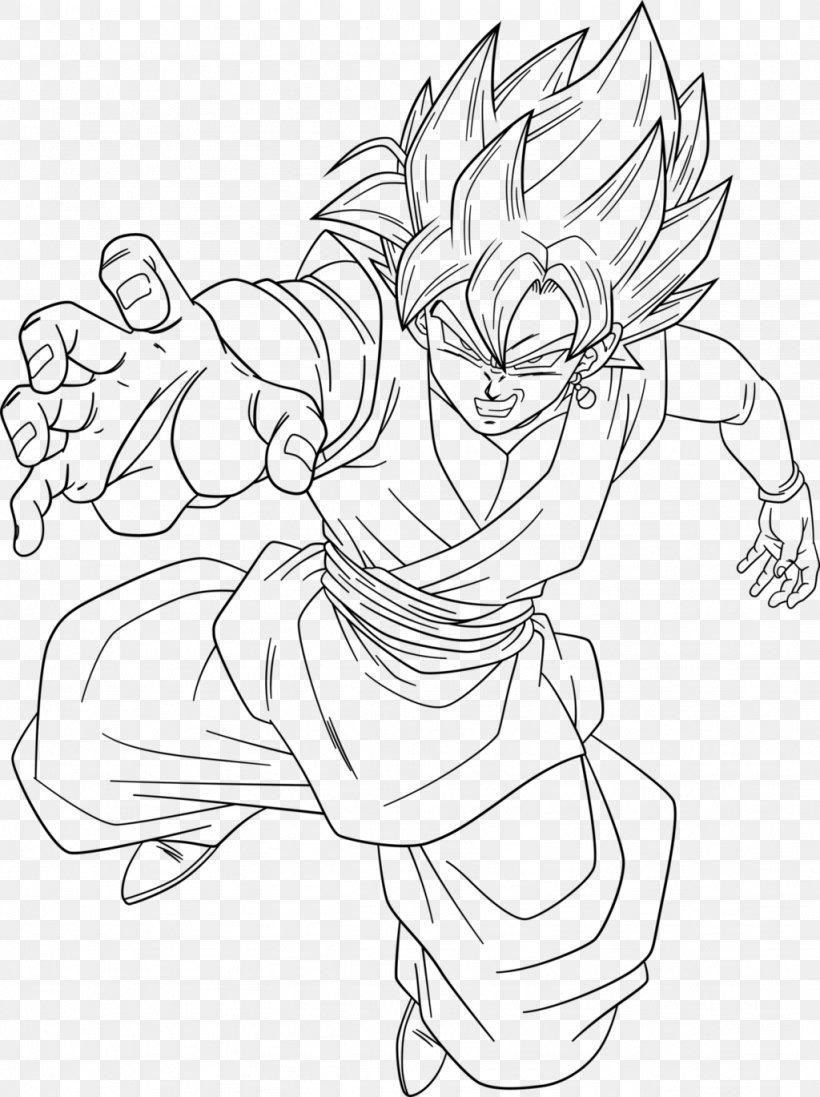 Goku Gohan Line Art Vegeta Trunks Png 1024x1370px Goku Arm